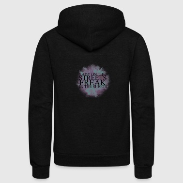 freak - Unisex Fleece Zip Hoodie