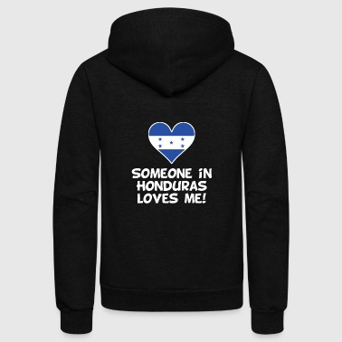 Someone In Honduras Loves Me - Unisex Fleece Zip Hoodie