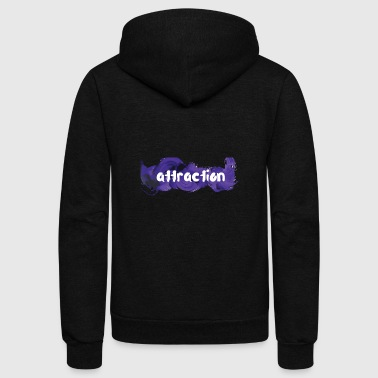attraction - Unisex Fleece Zip Hoodie
