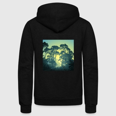 Forest - Unisex Fleece Zip Hoodie