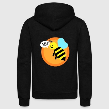 Cool bumble bee T-Shirt - Unisex Fleece Zip Hoodie