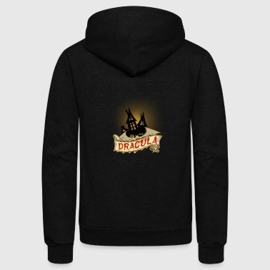 Count dracula's castle - Unisex Fleece Zip Hoodie