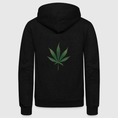 Ancient Pot Leaf - Unisex Fleece Zip Hoodie