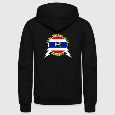 Thai Boxing Club - Unisex Fleece Zip Hoodie