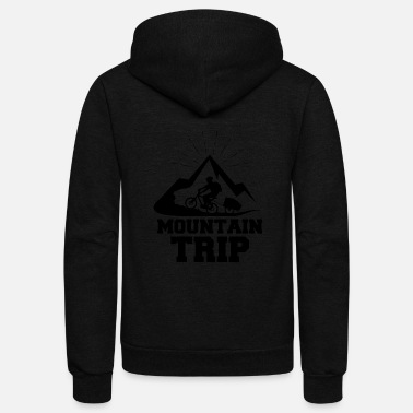Trip Mountain trip - Unisex Fleece Zip Hoodie