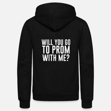 Prom Great T-Shirt. Student Gift From Dad/Mom - Unisex Fleece Zip Hoodie