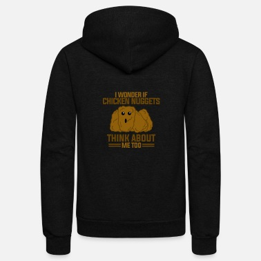 Nugget Cool Chicken Nuggetts - Unisex Fleece Zip Hoodie