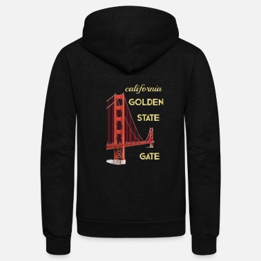 Gate california golden state gate - Unisex Fleece Zip Hoodie