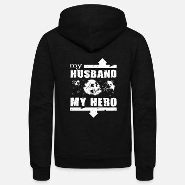 My Husband Cancer My Husband - My Husband T Shirt - Unisex Fleece Zip Hoodie