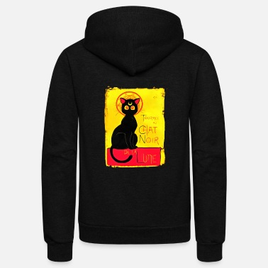Japan cat - Unisex Fleece Zip Hoodie