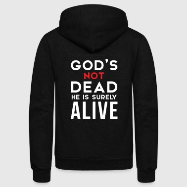 Godly God - god's not dead - Unisex Fleece Zip Hoodie