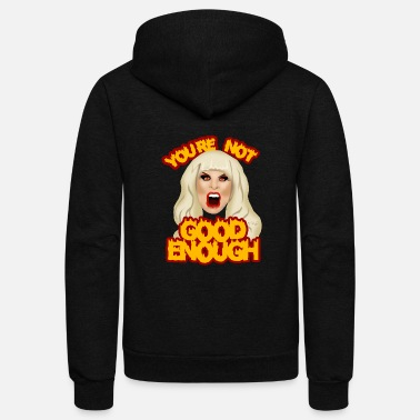 good enough - Unisex Fleece Zip Hoodie