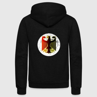 German Eagle T-hsirt - Unisex Fleece Zip Hoodie