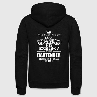 Bartender BARTENDER - EXCELLENCY - Unisex Fleece Zip Hoodie