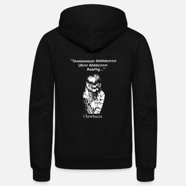 Han Solo Chewbacca T - shirt - Star Wars fan - Unisex Fleece Zip Hoodie