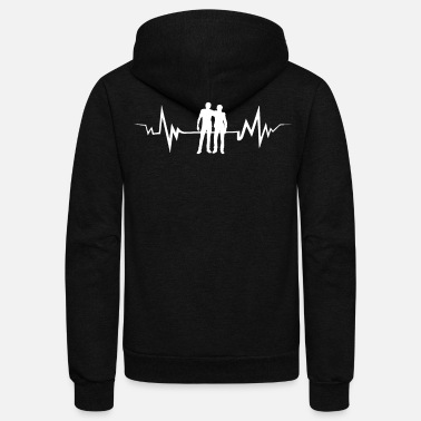Laughingoutloud Cool Buddy Tee Shirt - Unisex Fleece Zip Hoodie