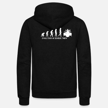 Tambores Drums Designers Edition - Unisex Fleece Zip Hoodie