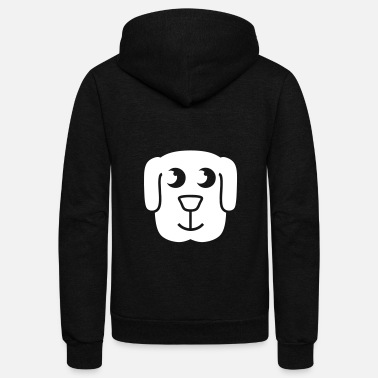 Animal Puppy - Unisex Fleece Zip Hoodie