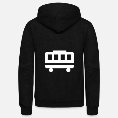 Trolley Trolley - Unisex Fleece Zip Hoodie