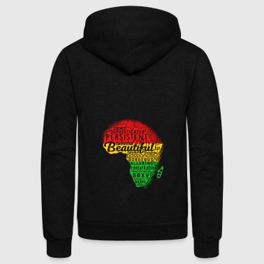 AFRO forLIGHT - Unisex Fleece Zip Hoodie