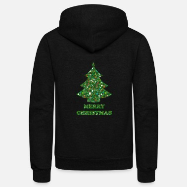 Merry Ugly Christmas - Unisex Fleece Zip Hoodie