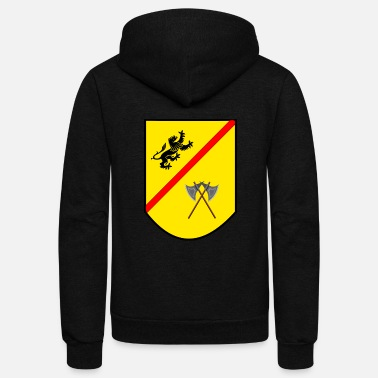 Coat Coat of arms - Unisex Fleece Zip Hoodie