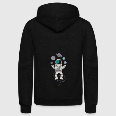 The Juggler T shirt - Unisex Fleece Zip Hoodie
