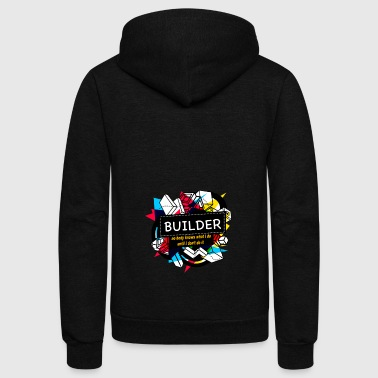 BUILDER - Unisex Fleece Zip Hoodie