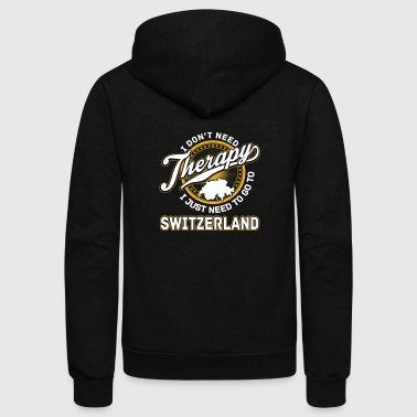 Switzerlan - I just need to go to switzerland - Unisex Fleece Zip Hoodie