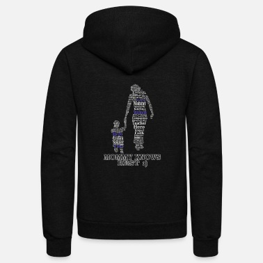 Mommy Mommy - Mommy knows best - Unisex Fleece Zip Hoodie
