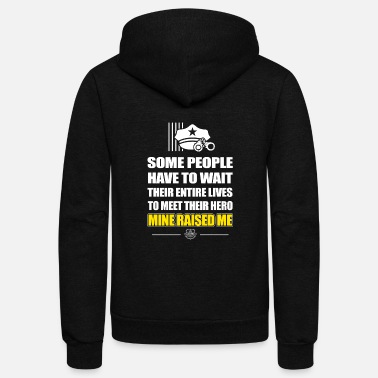 Correctional Officer - some people have to wait - Unisex Fleece Zip Hoodie