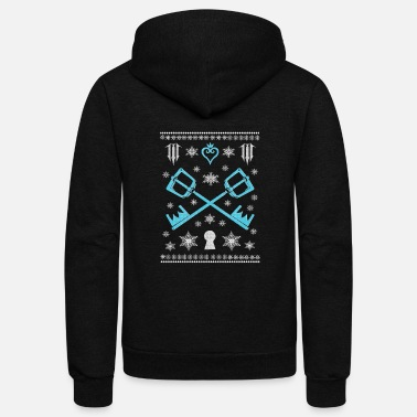 Kingdom Kingdom hearts - Kingdom hearts - kingdom christ - Unisex Fleece Zip Hoodie