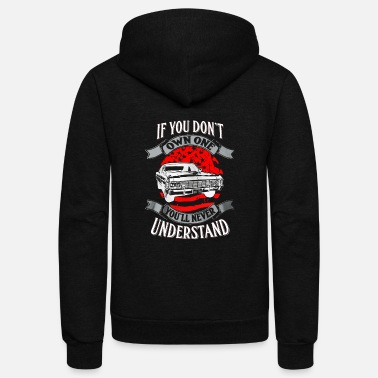 Mustang If you don't own mustang you'll never understand - Unisex Fleece Zip Hoodie