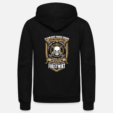 Enviromental Forest manager - I've earned it with my tears - Unisex Fleece Zip Hoodie