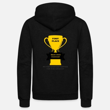 First Place First Place Dad - Unisex Fleece Zip Hoodie