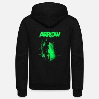 Arrow arrow - Unisex Fleece Zip Hoodie