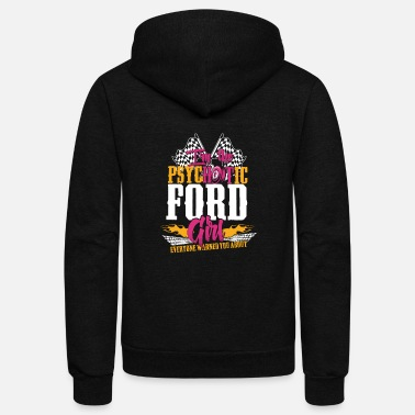 Michael Clifford Psychotic Ford girl - Everyone warned you about - Unisex Fleece Zip Hoodie