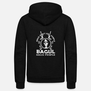 Bagu Bagun kills people - Unisex Fleece Zip Hoodie