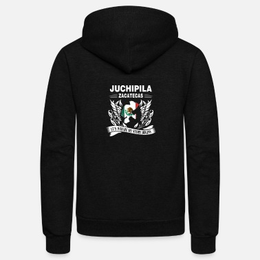 Zacatecas's Juchipila - Zacatecas where my story begins - Unisex Fleece Zip Hoodie
