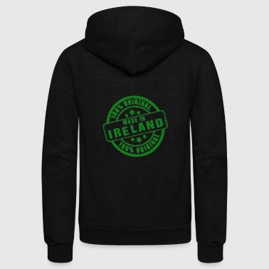 Block Irish - 100% original made in Ireland - Unisex Fleece Zip Hoodie