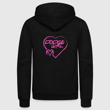 Dodge - Dodge - dodge girl T shirt - Unisex Fleece Zip Hoodie