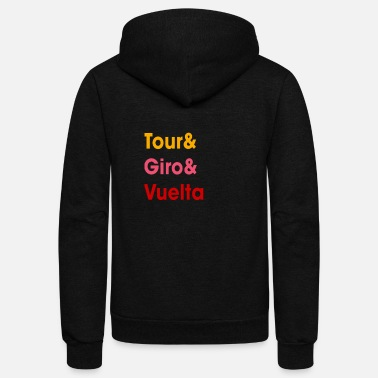 Grand Tours v3 - Unisex Fleece Zip Hoodie