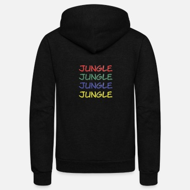 Jungle Jungle Jungle Jungle Jungle - Unisex Fleece Zip Hoodie
