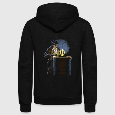 Raider of the Golden Ratio - Unisex Fleece Zip Hoodie