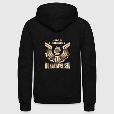 Made in Germany - Proud of coming from Germany - Unisex Fleece Zip Hoodie