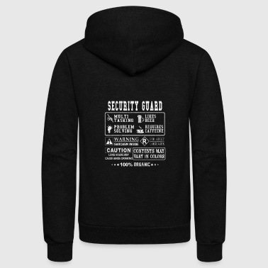 Security guard - Ugly t-shirt for security guard - Unisex Fleece Zip Hoodie