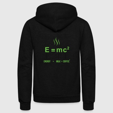 Quotes Life Equation - Unisex Fleece Zip Hoodie