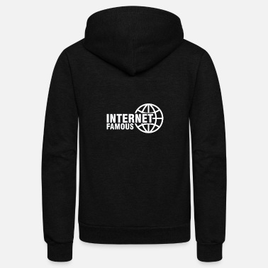Internet Internet - Unisex Fleece Zip Hoodie
