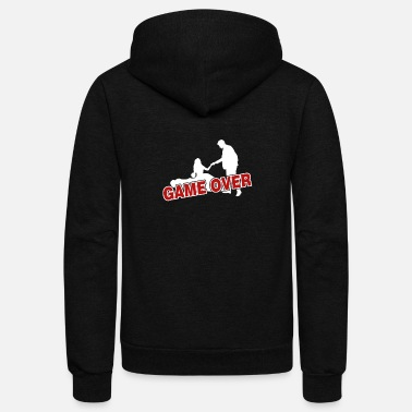 Game Over Game over - Unisex Fleece Zip Hoodie