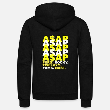 Asap ASAP visual pattern - Unisex Fleece Zip Hoodie